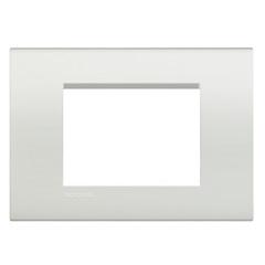 Placa para 3 Postos 4x2 Living Light Bianco - BTicino