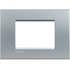 Placa para 3 Postos Living & Light Tech 4x2 - BTicino