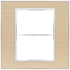 Placa para 3 Postos Separados Arteor Casual 4x4 - Pial Legrand