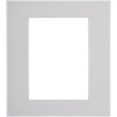 Placa para 6 Postos Quadrado 4x4 Grigio Ghiaccio - BTicino