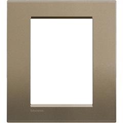 Placa para 6 Postos Quadrado 4x4 Square - BTicino