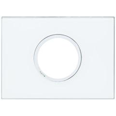 Placa Redonda Arteor Mirror White 4x2 - Pial Legrand