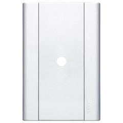 Placa Saída de Fio 4x2 Modulare Branca - Fame