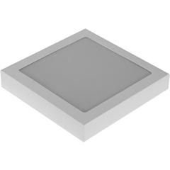 Plafon Led 25w Bivolt Slim 20cm Branco 6000k Luz Branca