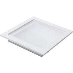 Plafon Led de Embutir 18w Bivolt 20cm Branco 6000k Luz Branca - RCG Tecnologia