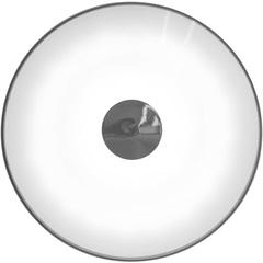 Plafon Led Redondo 36w Bivolt 50cm 4000k Luz Branca - Casanova