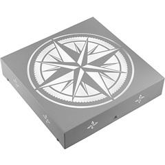 Plafon Quadrado Rosa dos Ventos Branco 6000k Luz Branca - RCG Tecnologia