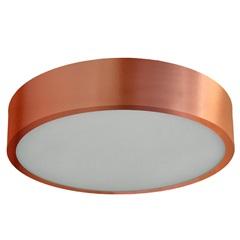 Plafon Sobrepor para 2 Lâmpadas Cobre - Pantoja & Carmona