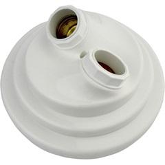 Plafonier Decorativo Duplo para 2 Lâmpadas Branco - Pavilonis