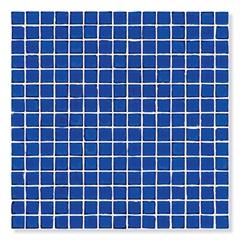 Plastilha de Resina E Vidro Glass Bic 2x2cm Azul - Portobello