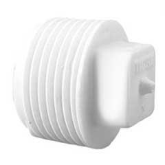 Plug com Rosca 3/4'' Branco