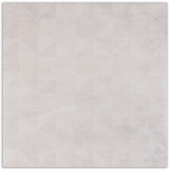 Porcelanato Absolute White Decor Cinza 84x84cm - Elizabeth
