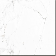 Porcelanato Acetinado Borda Bold Statuário 61x61cm - Buschinelli