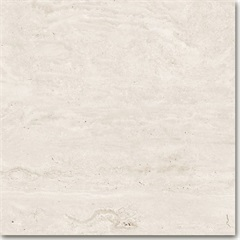 Porcelanato Acetinado Borda Reta Bege Travertino Veins 80x80cm - Ceusa
