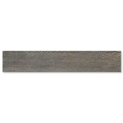 Porcelanato Acetinado Borda Reta Home Black 20x120cm - Roca