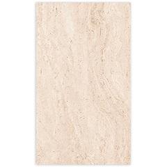 Porcelanato Acetinado Borda Reta Marmo Travertino Clássico Bege 63x108cm - Villagres