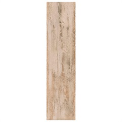 Porcelanato Acetinado Borda Reta Naturale Cabana Mix Marrom 24,5x100cm - Villagres