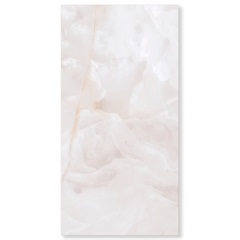 Porcelanato Acetinado Borda Reta Onix Bianco 53x106cm - Biancogres