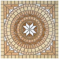 Porcelanato Acetinado Borda Reta Rosone Cerâmico 02e 82x82cm - Anticatto