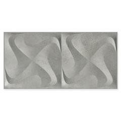 Porcelanato Acetinado Borda Reta Seattle Spin Gris 30x60cm - Incepa