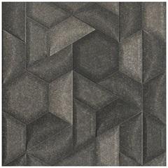 Porcelanato Acetinado Borda Reta Trapez Grafite 59x59cm - Eliane