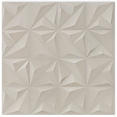 Porcelanato Acetinado Matte Borda Reta Sense Abstract Soft Beige 60x60cm - Portinari