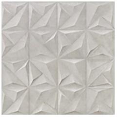 Porcelanato Acetinado Matte Borda Reta Sense Abstract Soft Gray 58,4x58,4cm - Cerâmica Portinari