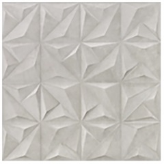 Porcelanato Acetinado Matte Borda Reta Sense Abstract Soft Gray 60x60cm - Portinari