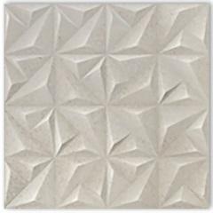 Porcelanato Acetinado Matte Borda Reta Sense Abstract Soft Off White 58,4x58,4cm - Portinari