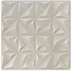 Porcelanato Acetinado Matte Borda Reta Sense Abstract Soft Off White 60x60cm - Portinari