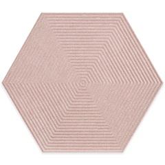 Porcelanato Borda Bold Love Hexa Matte Lux Rosa 17,4x17,4cm - Cerâmica Portinari
