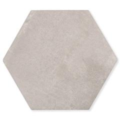 Porcelanato Borda Bold Mate Nord Ris Hexa Cinza Claro 20x20cm - Portobello