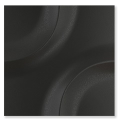 Porcelanato Borda Reta Space Move Matte Lux Preto 20,1x20,1cm - Portinari