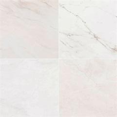 Porcelanato Bordo Di Marmo Bianco Retificado 52x52cm - Porto Ferreira