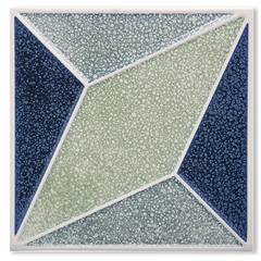 Porcelanato Brilhante Borda Bold Pixel Decor 1 20x20cm - Portinari