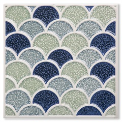 Porcelanato Brilhante Borda Bold Pixel Decor 3 20x20cm - Portinari