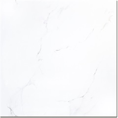 Porcelanato Brilhante Borda Reta Marmo Branco 101x101cm - Incepa