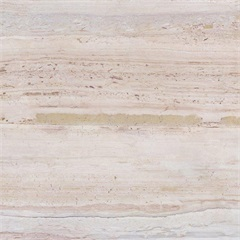 Porcelanato Brilhante Borda Reta Travertino Rose 63,5x63,5cm - Porto Ferreira