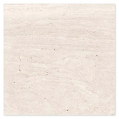 Porcelanato Esmaltado Acetinado Borda Reta Travertino Veins 80x80cm - Ceusa