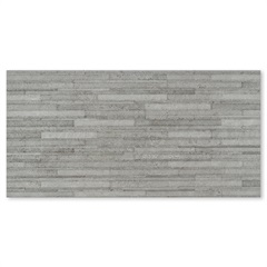 Porcelanato Esmaltado Borda Reta Seattle Gris 30x60cm - Incepa
