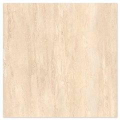 Porcelanato Esmaltado Borda Reta Travertino Bege 52,5x52,5cm - In Out