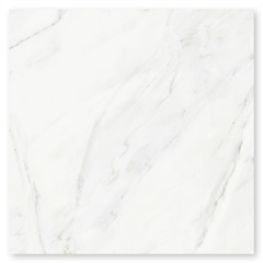 Porcelanato Esmaltado Brilhante Borda Reta Bianco Venato 56x56cm