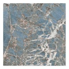 Porcelanato Esmaltado Brilhante Borda Reta Blue Marine 100x100cm - Ceusa
