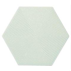 Porcelanato Esmaltado Matte Borda Bold Love Hexa Green 17,4x17,4cm - Portinari