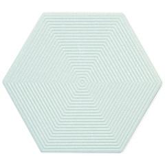 Porcelanato Esmaltado Matte Borda Bold Love Hexa Soft Beige 17,4x17,4cm - Portinari