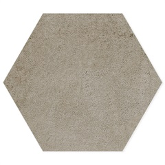 Porcelanato Esmaltado Natural Borda Bold Detroit Hexa Noce 17,4x17,4cm - Portinari