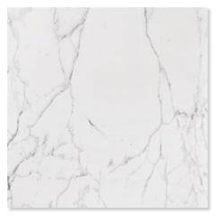 Porcelanato Esmaltado Polido Borda Reta Carrara Branco 120x120cm - Roca