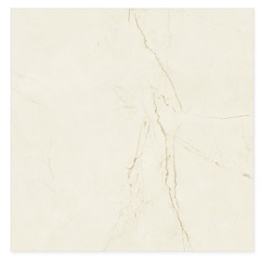 Porcelanato Esmaltado Polido Borda Reta Sicilia Off White 87,7x87,7cm - Portinari