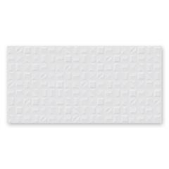 Porcelanato Esmaltado Relevo Acetinado Borda Reta Forme Bianco 53x106cm - Biancogres