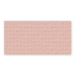 Porcelanato Esmaltado Relevo Acetinado Borda Reta Forme Rose 53x106cm - Biancogres